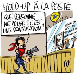 Nactualités : Hold-up à la Poste !