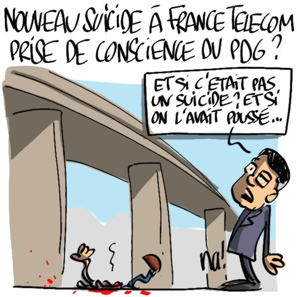 Nactualités : nouveau suicide à France Télécom