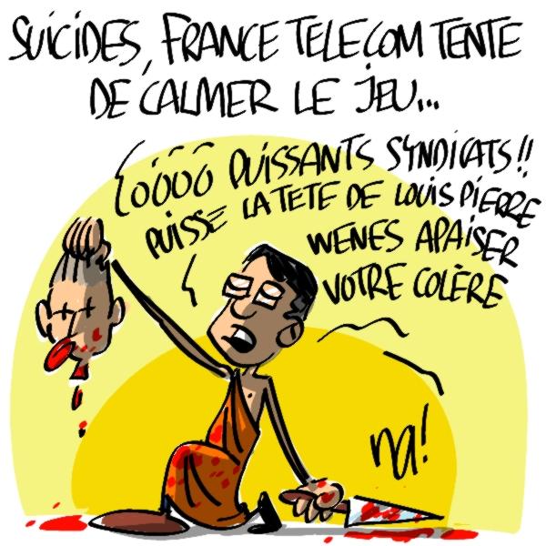 Nactualités : suicides, France Telecom tente de calmer le jeu