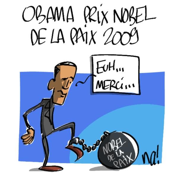 Nactualités : Obama prix Nobel de la paix 2009