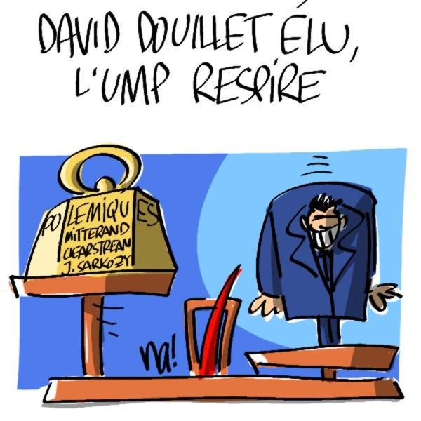 Nactualités : David Douillet élu, l'UMP respire
