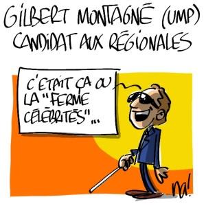 Nactualités : Gilbert Montagné candidat aux régionales 2010 pour l'UMP