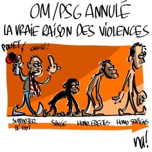 Nactualités : OM/PSG annulé, la vraie raison des violences