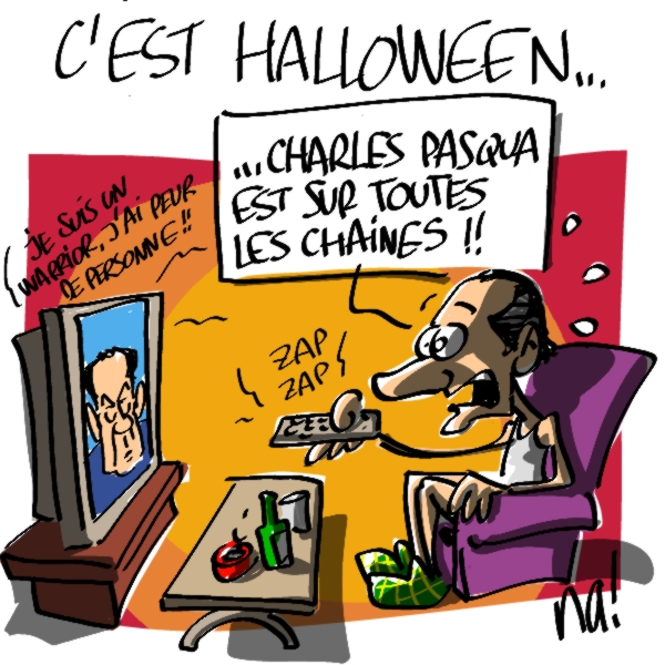 Nactualités : c'est halloween !