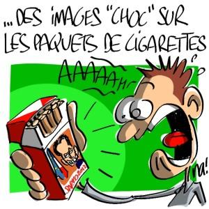 """Nactualités : des images """"choc"""" sur les paquets de cigarettes"""