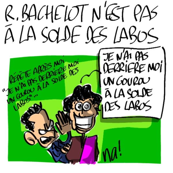 Nactualités : Roselyne Bachelot n'est pas à la solde des labos !