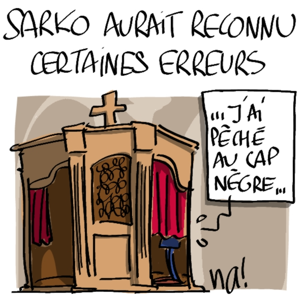 Nactualités : Nicolas Sarkozy aurait reconnu certaines erreurs