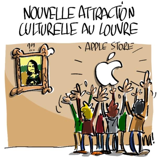 Nactualités : nouvelle attraction culturelle au Louvre