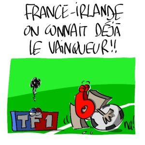 Nactualités : France-Irlande, on connait déjà le vainqueur !