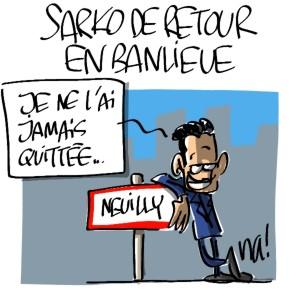 Nactualités : Nicolas Sarkozy de retour en banlieue