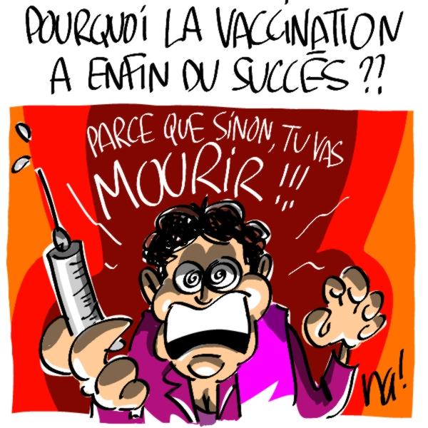 Nactualités : grippe A, pourquoi la vaccination a enfin du succès ?