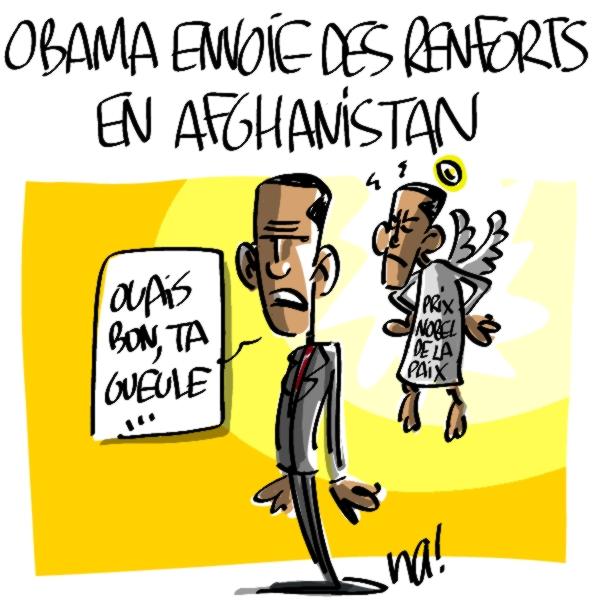 Nactualités : Obama envoie des renforts en Afghanistan