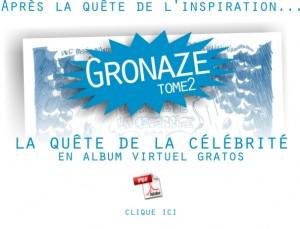 Gronaze : l'album gratos du tome 2
