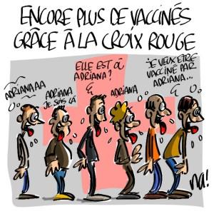 Nactualités : encore plus de vaccinés grâce à la Croix Rouge