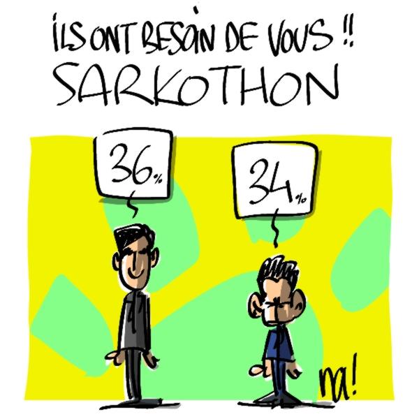 Nactualités : ils ont besoin de vous : le sarkothon