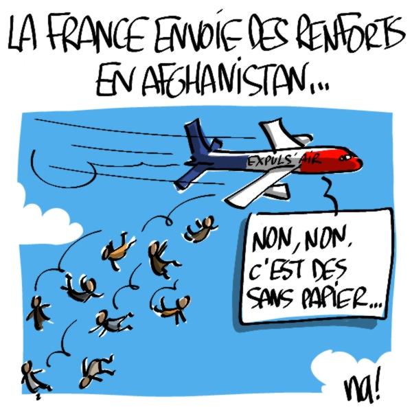 Nactualités : La France envoie des renforts en Afghanistan