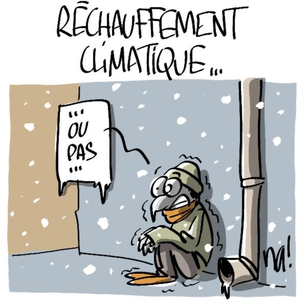 Nactualités : réchauffement climatique…