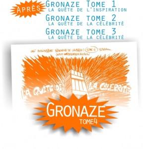 Gronaze : encore un nalbum, le tome 4 (encore gratos) !