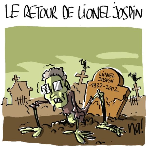 Nactualités : le retour de Lionel Jospin
