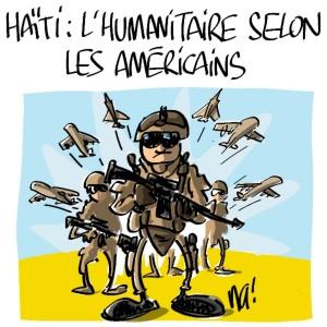 Nactualités : Haïti, l'humanitaire selon les américains