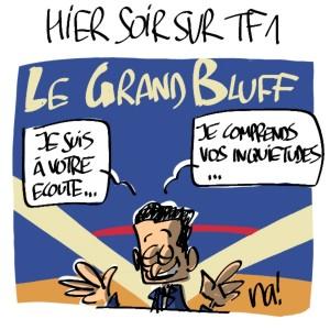 Nactualités : hier soir sur TF1