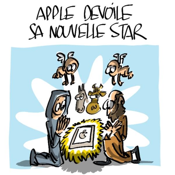 Nactualités : Apple dévoile sa nouvelle star