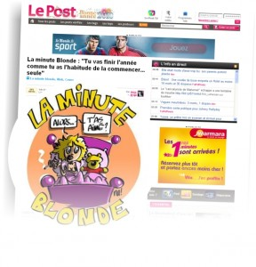 na! dans « la minute blonde de Jess » sur Le Post