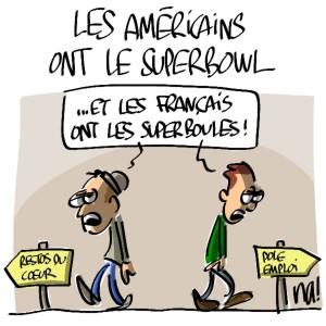 Nactualités : les américains ont le Superbowl