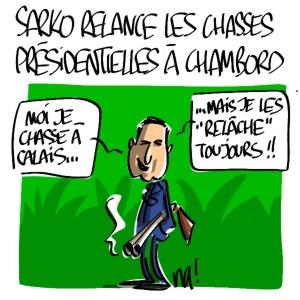 Nactualités : Nicolas Sarkozy relance les chasses présidentielles à Chambord