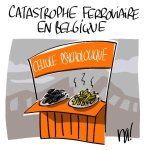 Nactualités : catastrophe ferroviaire en Belgique