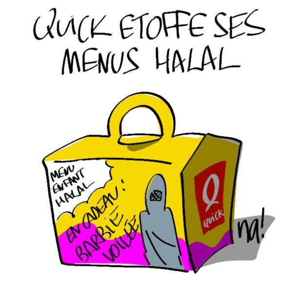 Nactualités : Quick étoffe ses menus halal