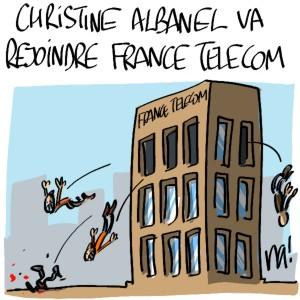 Nactualités : Christine Albanel va rejoindre France Telecom
