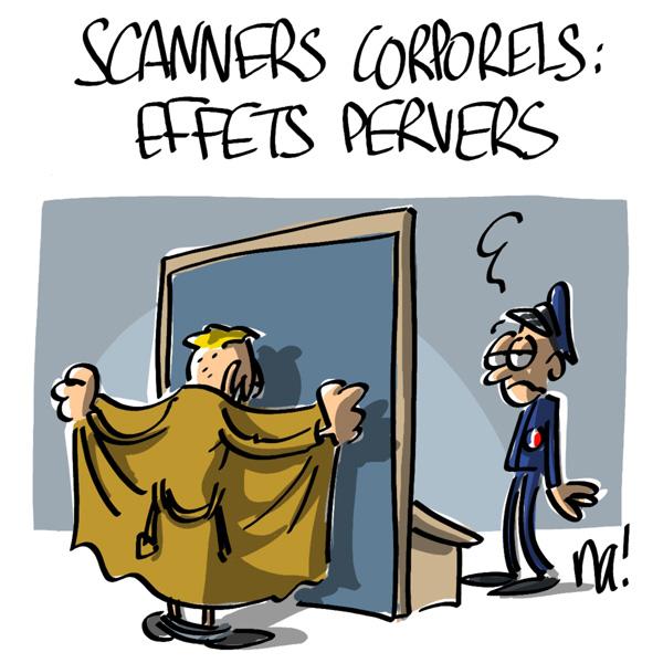 Nactualités : scanners corporels, les effets pervers