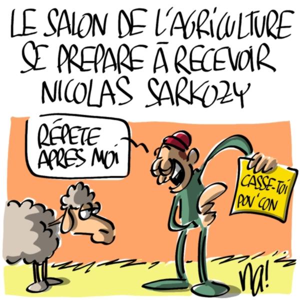 Nactualités : Le salon de l'Agriculture se prépare à recevoir Nicolas Sarkozy