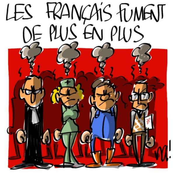 Nactualités : les français fument de plus en plus