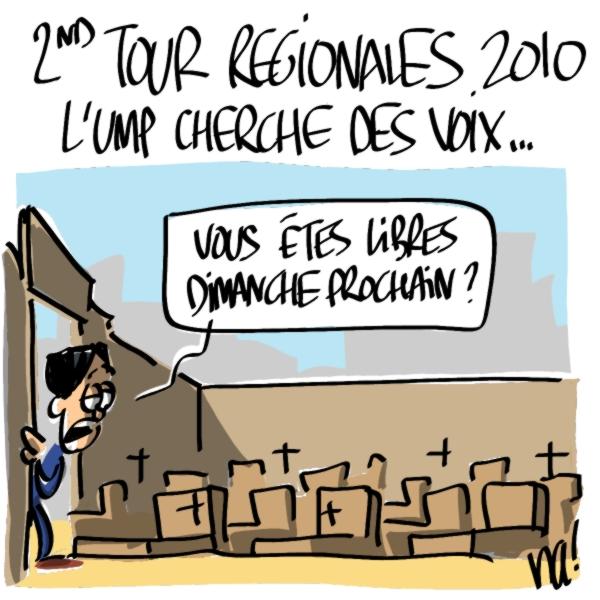 Nactualités : 2nd tour régionales 2010, l'UMP cherche des voix…