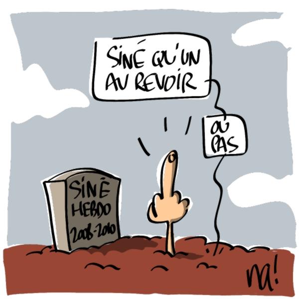 Nactualités : Siné Hebdo s'arrête…