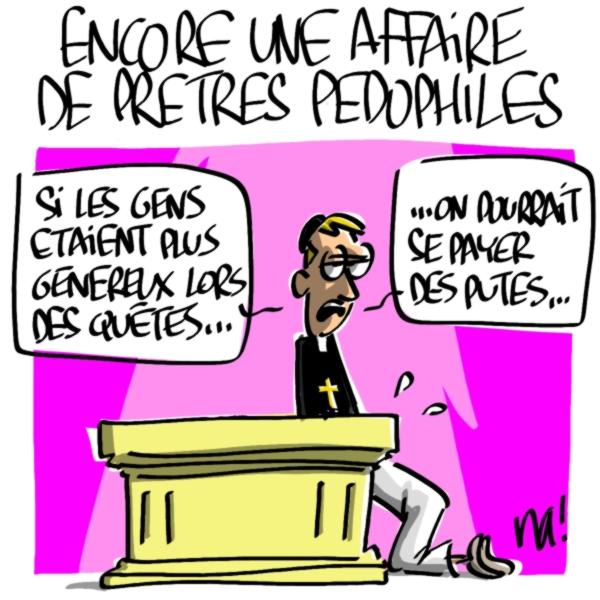 Nactualités : encore une affaire de prêtres pédophiles
