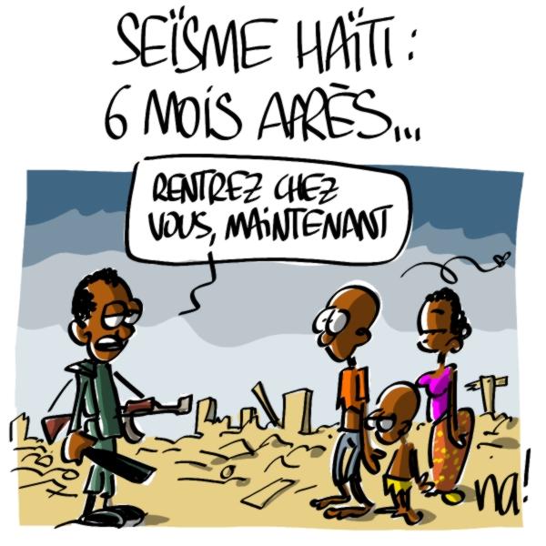 Nactualités : Séïsme Haïti, 6 mois après…
