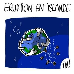 Nactualités : éruption en Islande