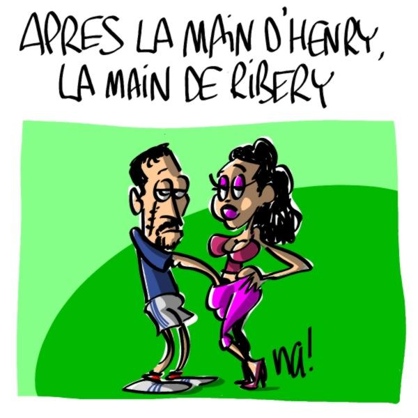 Nactualités : Après la main d'Henry, la main de Ribéry
