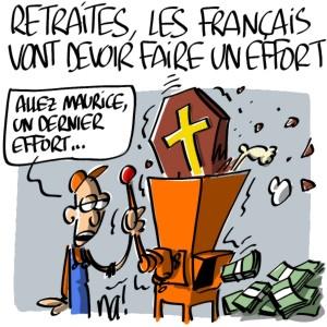 Nactualités : retraites, les français vont devoir faire un effort