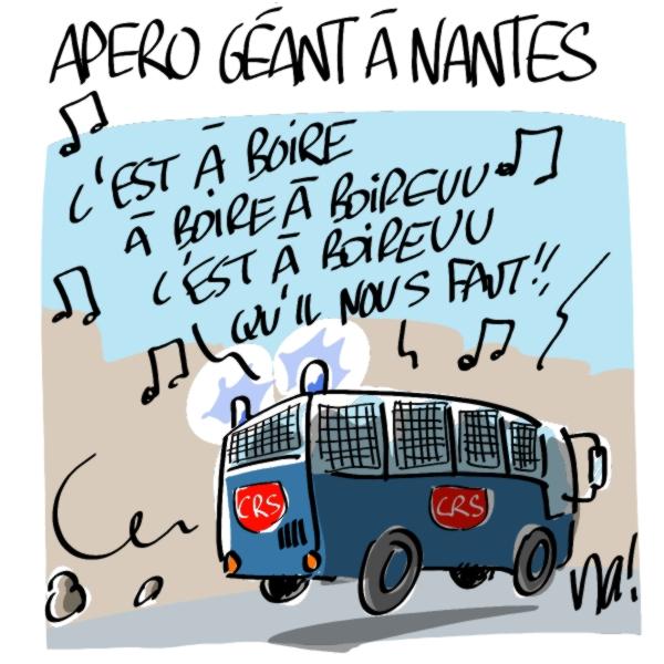 Nactualités : apéro géant à Nantes…