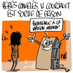Nactualités : bébés congelés, Véronique Courjault est sortie de prison
