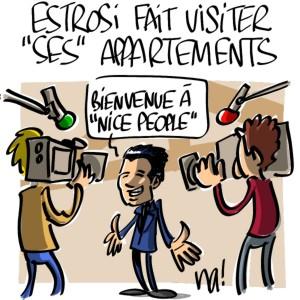 Nactualités : Estrosi fait visiter «ses» appartements