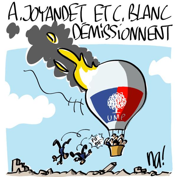 Nactualités : A. Joyandet et C. Blanc démissionnent du gouvernement