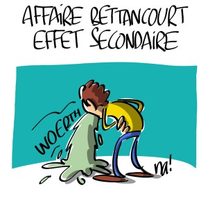 Nactualités : affaire Bettencourt, effet secondaire