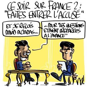Nactualités : ce soir sur France 2, faites entrer l'accusé