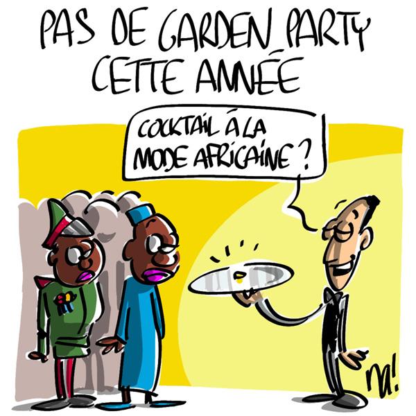 Nactualités : pas de garden party à l'Elysée cette année