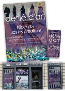 Jos les créations – galerie Hoche – Joseph Klibansky